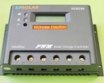 ΡΥΘΜΙΣΤΗΣ ΦΟΡΤΙΣΗΣ EPSOLAR VS3048N, 30A, 12/24/48V + LCD DISPLAY